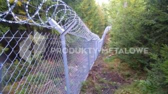 Montaż ogrodzenia z drutu ostrzowego w innych obiektach
