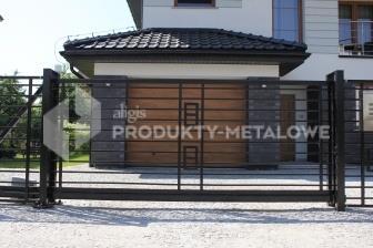 Brama uchylna - model 07 ocynkowana ogniowo H= 1500 mm, L= 5000 mm