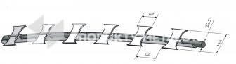 Drut ostrzowy Concertina fi 400 mm Tiny