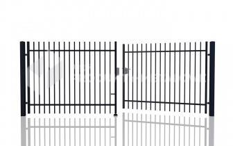 Brama uchylna MODEL 01 oc. ogniowo lak. proszkowo H= 1500 mm, L= 5000 mm