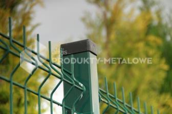 Słupek ogrodzeniowy do paneli ocynkowany i malowany proszkowo H= 2600 mm