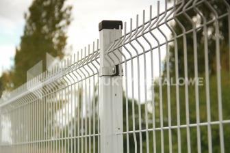 Słupek ogrodzeniowy do paneli ocynkowany H= 2600 mm