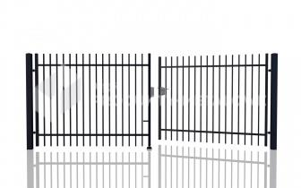 Brama uchylna - MP01 ocynkowana ogniowo H= 1500 mm, L= 5000 mm