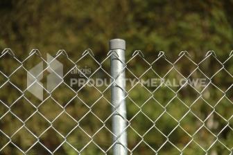 Siatka ogrodzeniowa pleciona ocynkowana  fi 2,5 mm, oczko 50x50 mm