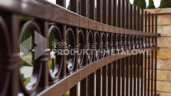 Przęsło ogrodzeniowe MODEL 03 ocynkowane ogniowo lakierowane proszkowo H=1200mm, L=2500 mm