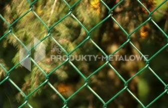 Siatka ogrodzeniowa pleciona powlekana (2,0 mm oc./ 3,1 mm  PCV), oczko 50x50 mm