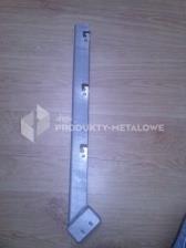 Wysięgnik jednoramienny ukośny 60x60 mm ocynkowany
