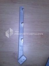 Wysięgnik jednoramienny ukośny fi 48 mm ocynkowany