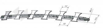 Drut ostrzowy Concertina fi 650 mm Tiny