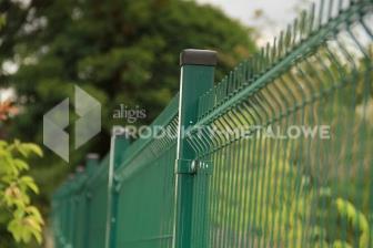 Panel ogrodzeniowy ocynkowany i lakierowany proszkowo 3D H= 1530 mm
