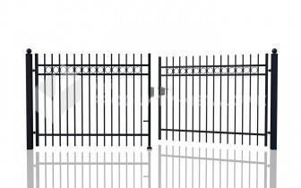 Brama uchylna MODEL 03 ocynkowana ogniowo H= 1500 mm, L= 5000 m