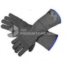 Rękawice ochronne Strong do montażu drutu ostrzowego Typ D