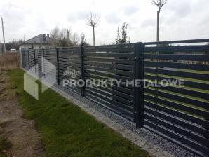 Przęsło ogrodzeniowe  MODEL 12 ocynkowane ogniowo lakierowane proszkowo H=1500mm, L=2000 mm